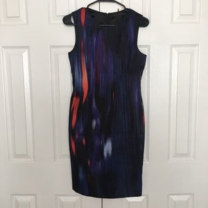 Elie Tahari Silk Career Dress Size 4